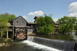 The Old Mill in Pigeon Forge