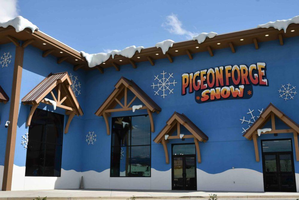 Pigeon Forge Snow