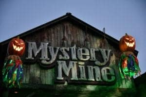 Mystery Mine ride at Dollywood